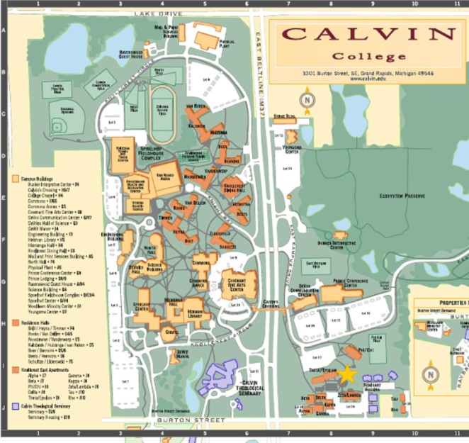 calvin college campus map Messiah college campus facilities the calvin and janet high center for worship and performing arts is the newest building on campus and campus map website.